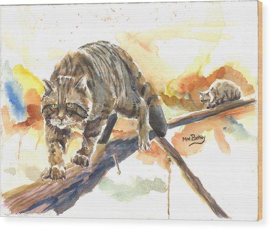 Scottish Wildcat Tom Wood Print