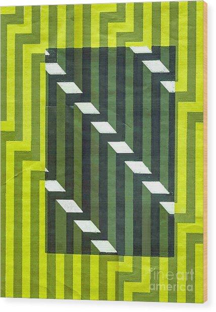Screen Print Wood Print by Dave Atkins