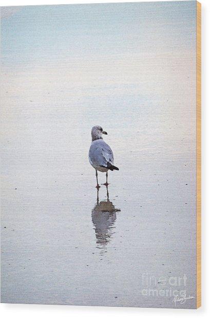 Sea Birds No.3 Wood Print