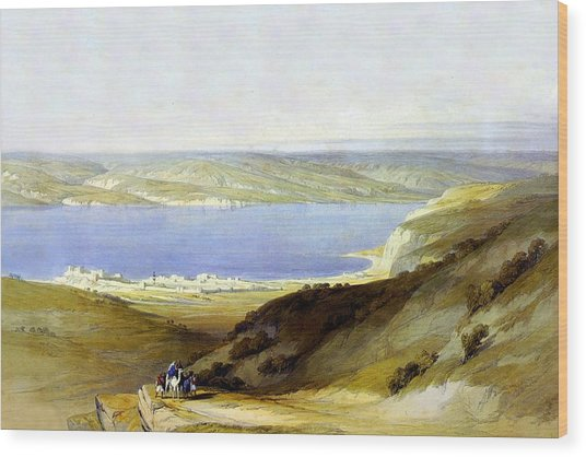 Sea Of Galilee Wood Print