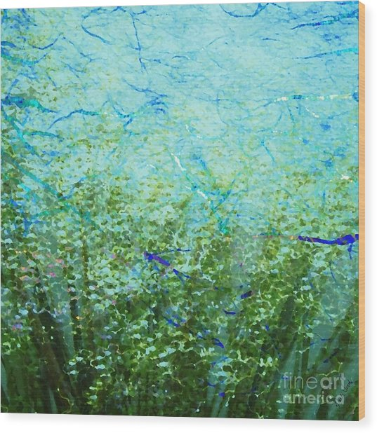 Seagrass Wood Print