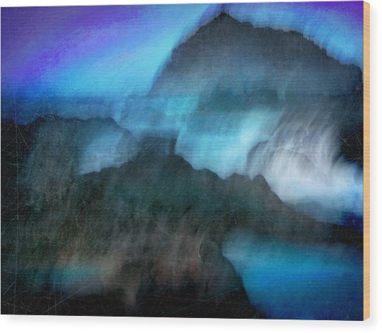 Seascape #9 -bay's Dusk- Wood Print