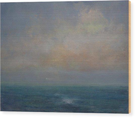 Seascape - A Nereid Sighting Wood Print