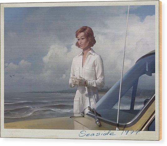 Seaside 1974 Wood Print