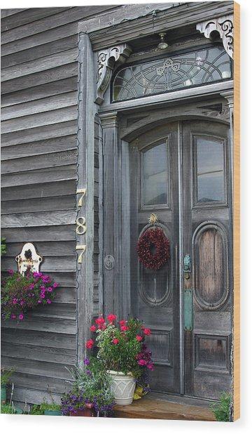 Seaside Entrance Wood Print