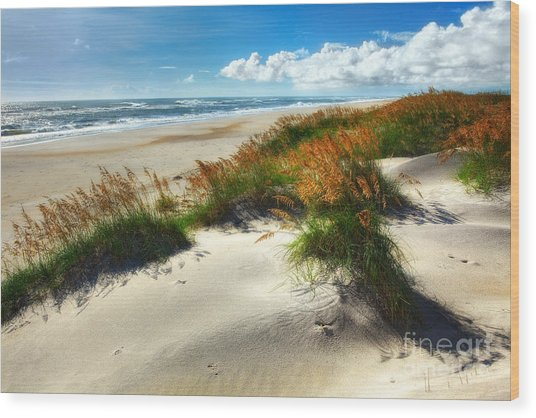 Seaside Serenity I - Outer Banks Wood Print
