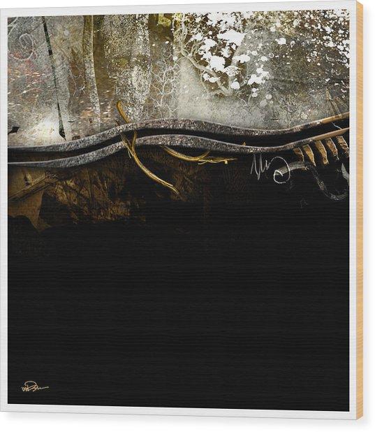 Seasonal Change Wood Print by James VerDoorn