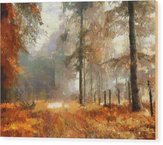 Seasons Come Seasons Go Wood Print