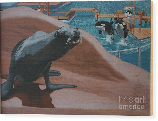 Seaworld Wood Print
