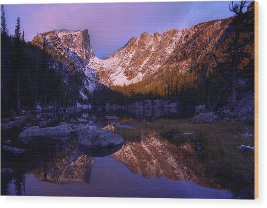 Second Light Wood Print