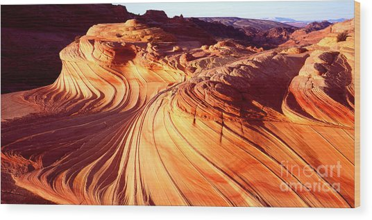 Second Wave In The North Coyote Buttes Wood Print