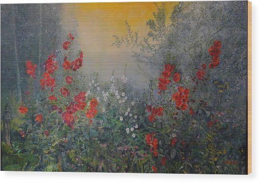 Secret Garden 110x180 Cm Wood Print