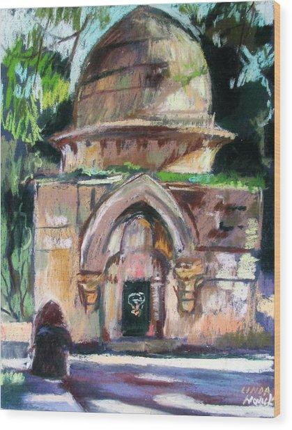 Secret Jerusalem Temple Wood Print