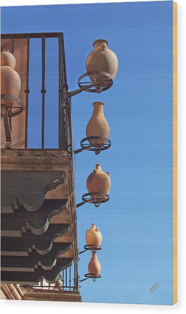 Sedona Jugs Wood Print