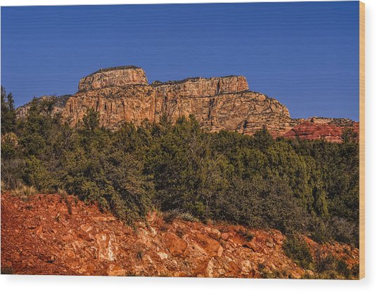 Sedona Vista 49 Wood Print