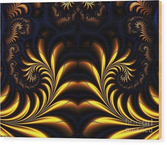Semiconduction Wood Print