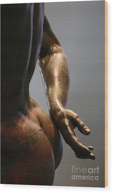 Sensual Sculpture Wood Print