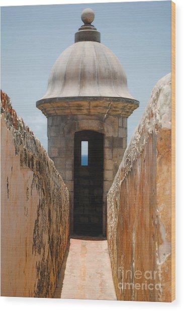 Sentinel Tower Wood Print