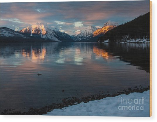 Wood Print featuring the photograph Serenade by Katie LaSalle-Lowery