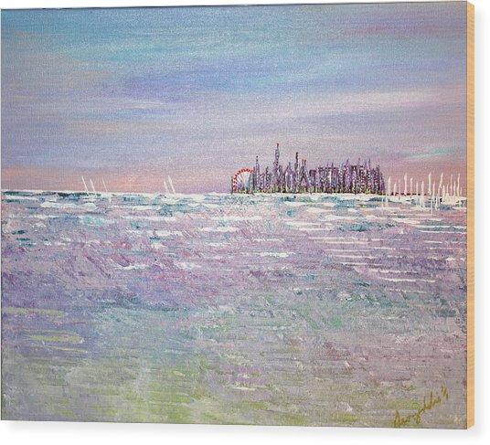 Serenity Sky - Sold Wood Print
