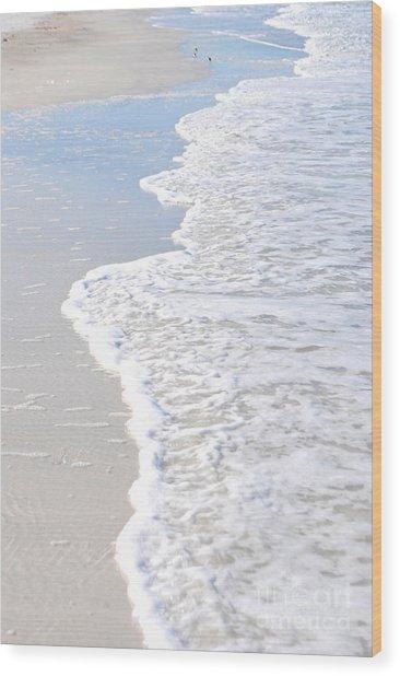 Serenity's Shore Wood Print