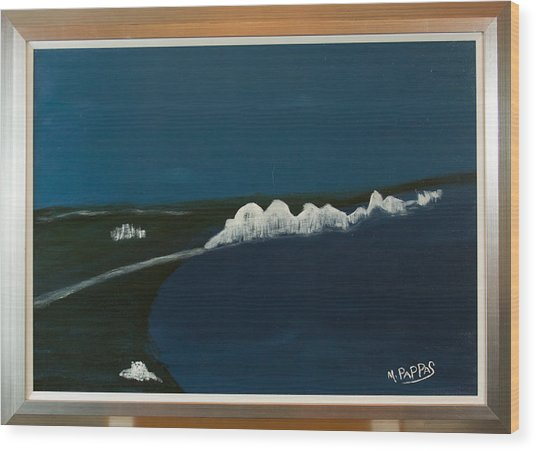 Seven Sisters Wood Print by Margaret Pappas