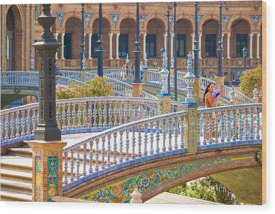 Sevilla In Spain Wood Print by Francesco Riccardo  Iacomino