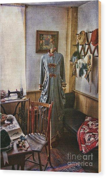 Sewing Room 1 Wood Print
