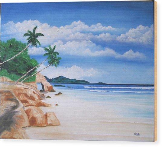 Seychelles Wood Print
