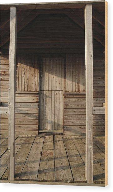 Shabby Shack, Gb Wood Print