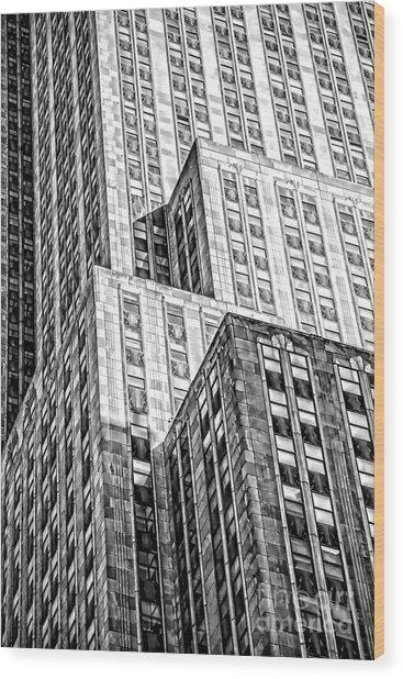 Shades Of An Empire Wood Print