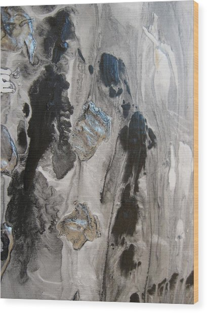 Shades Of Grey 33 Wood Print