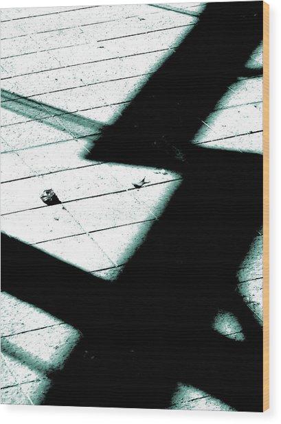 Shadows On The Floor  Wood Print