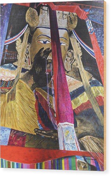 Shakyamuni Wood Print