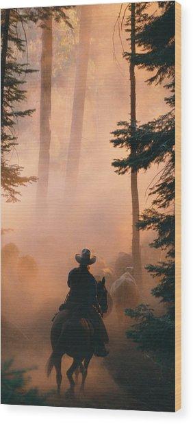 Shayna Wood Print