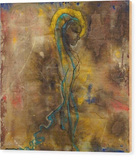 She Walks In Beauty  Wood Print