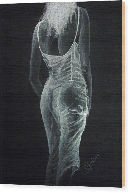 Sheer Elegance Wood Print