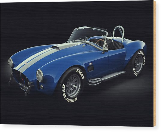 Shelby Cobra 427 - Bolt Wood Print