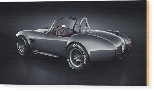 Shelby Cobra 427 - Venom Wood Print