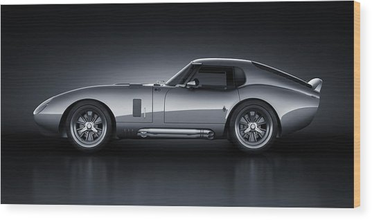 Shelby Daytona - Bullet Wood Print