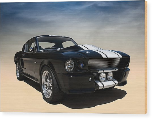 Shelby Super Snake Wood Print