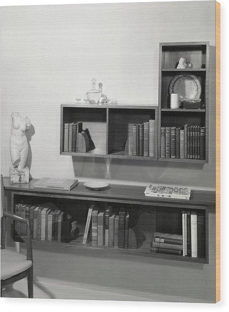 Shelving By Stow & Davis Wood Print