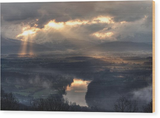 Shenandoah Light Wood Print
