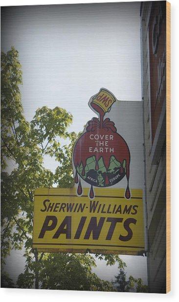 Sherwin Williams Wood Print