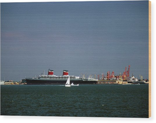 Ship Of State 2 Wood Print