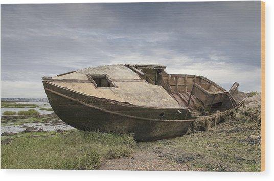 Ship Shape Wood Print by Nigel Jones