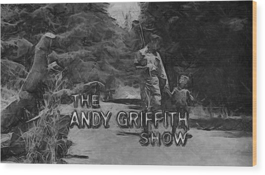 Show Cancelled Wood Print