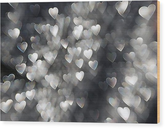 Showered In Love Wood Print