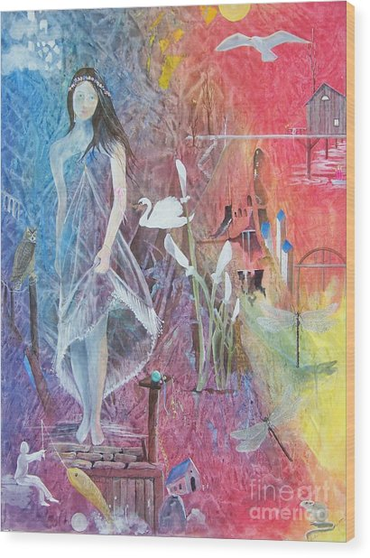 Sian Nia Wood Print