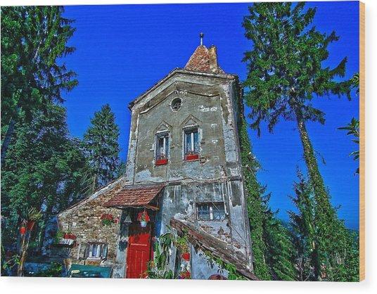 Sighisoara - Citadel Tower Wood Print